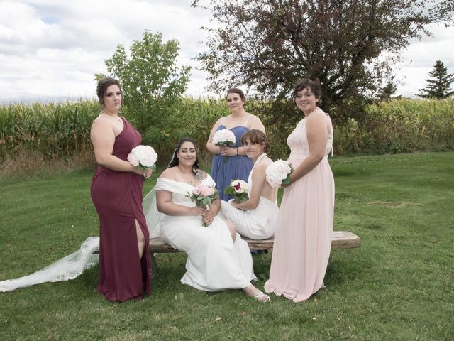 Stephanie and Julie's wedding in Winchester, Ontario 19