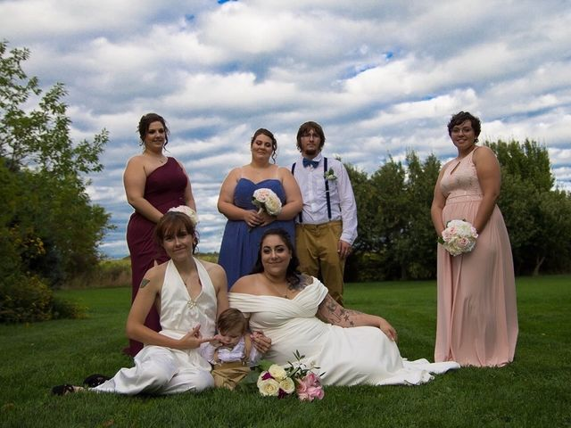 Stephanie and Julie's wedding in Winchester, Ontario 21