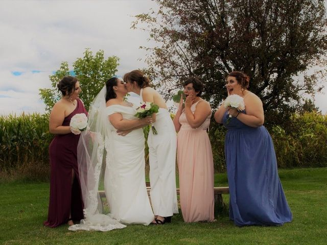 Stephanie and Julie's wedding in Winchester, Ontario 22