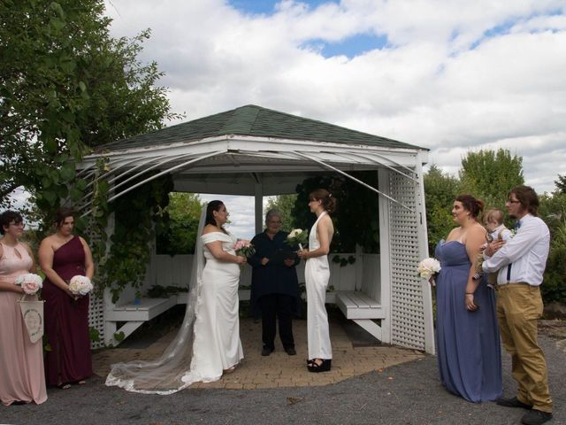 Stephanie and Julie's wedding in Winchester, Ontario 24