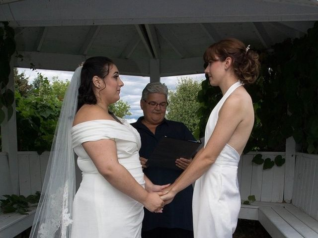Stephanie and Julie's wedding in Winchester, Ontario 25
