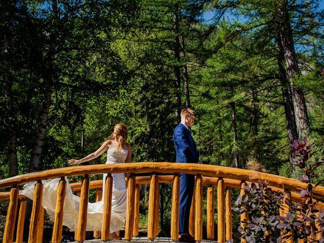 Matt and Erica's wedding in Cranbrook, British Columbia 5