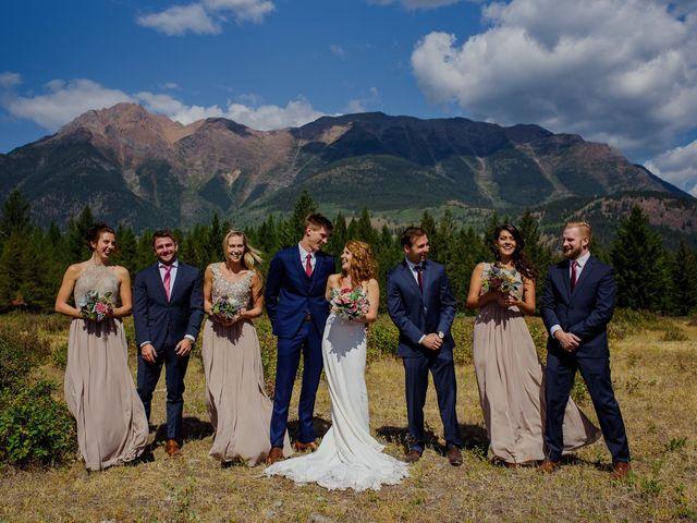 Matt and Erica's wedding in Cranbrook, British Columbia 6