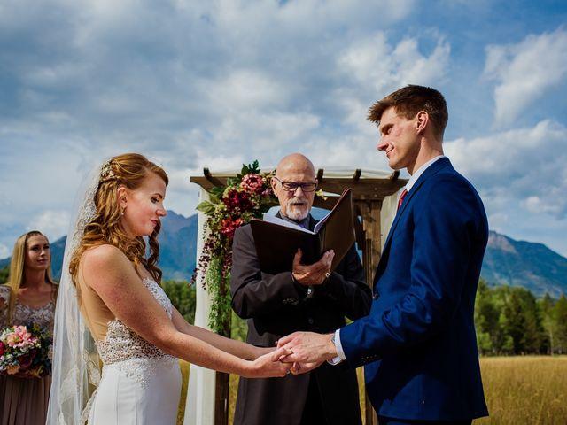 Matt and Erica's wedding in Cranbrook, British Columbia 11