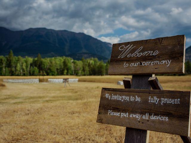 Matt and Erica's wedding in Cranbrook, British Columbia 36