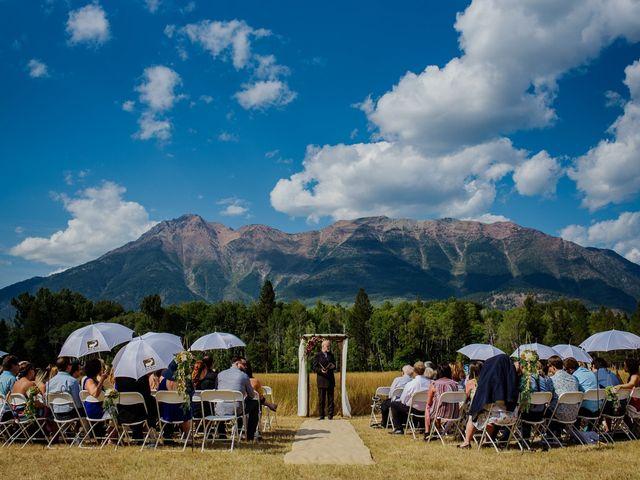 Matt and Erica's wedding in Cranbrook, British Columbia 39
