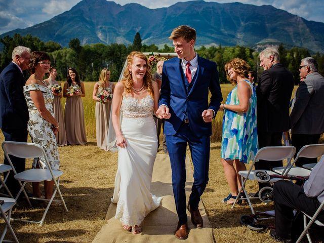 Matt and Erica's wedding in Cranbrook, British Columbia 41