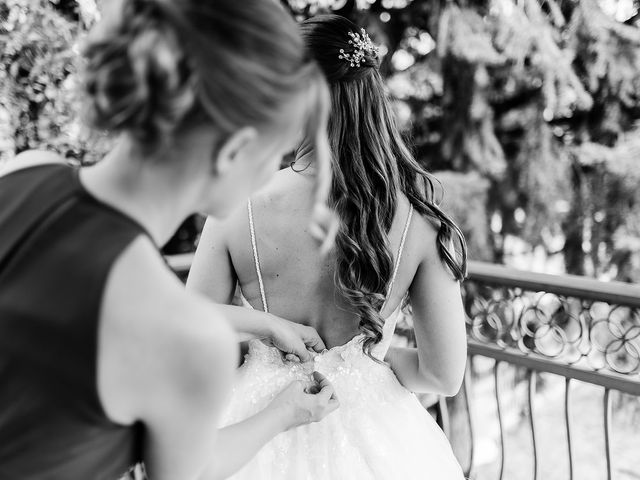 Barbara and Brendan's wedding in Vancouver, British Columbia 1