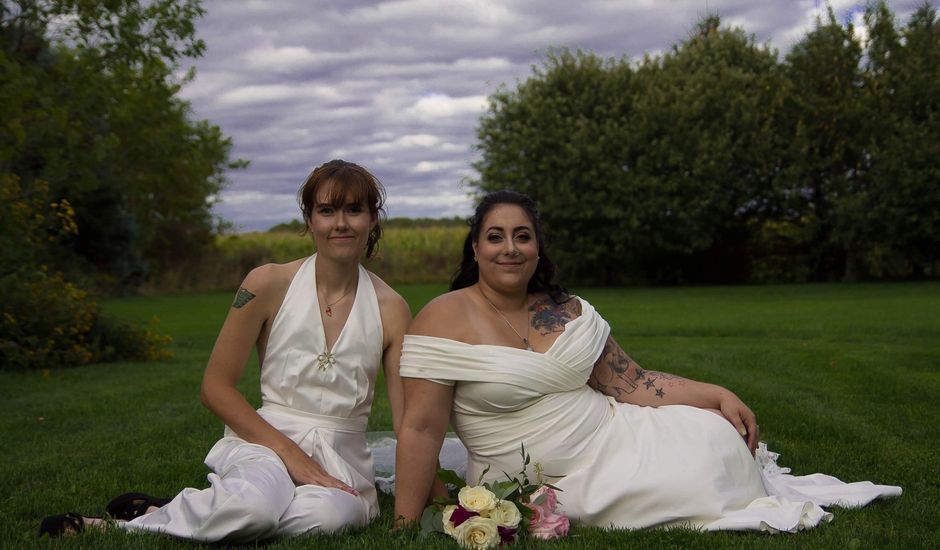Stephanie and Julie's wedding in Winchester, Ontario