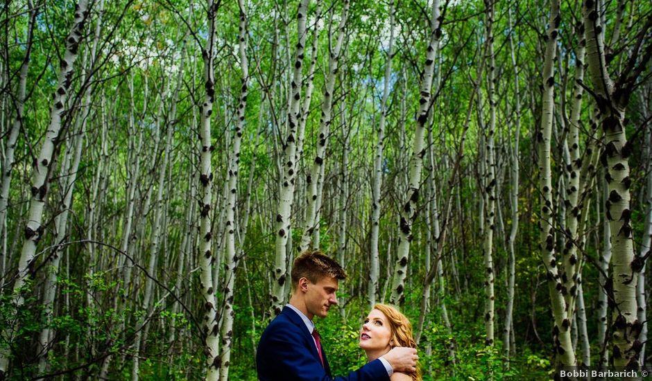 Matt and Erica's wedding in Cranbrook, British Columbia