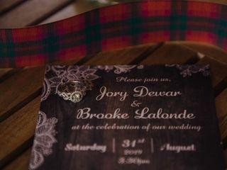 The wedding of Brooke and Jory 1