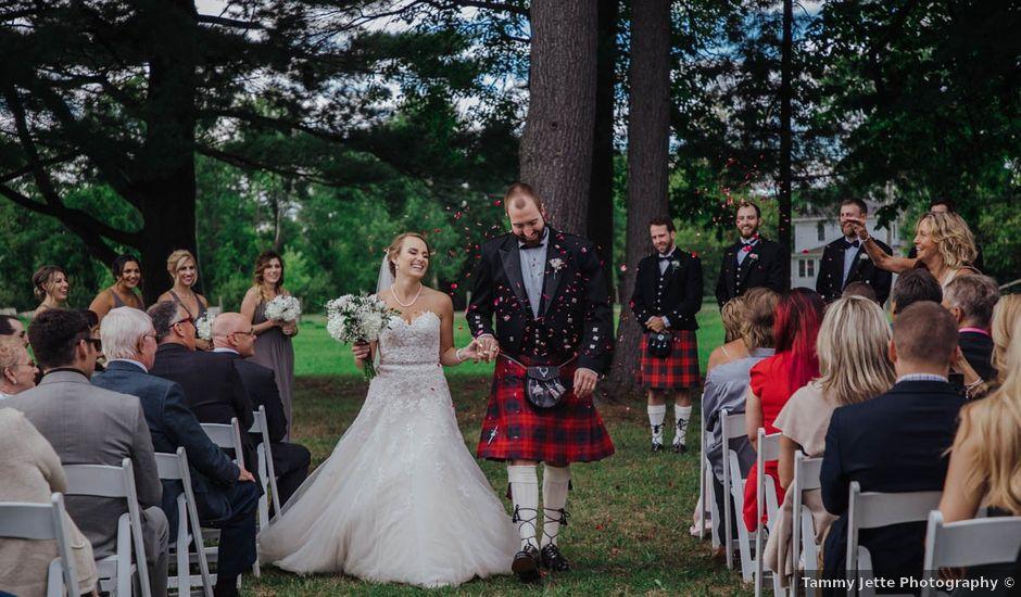 Jory and Brooke's wedding in Williamstown, Ontario