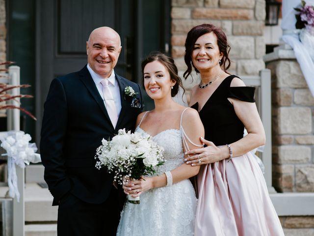 David and Jessica's wedding in Burlington, Ontario 29