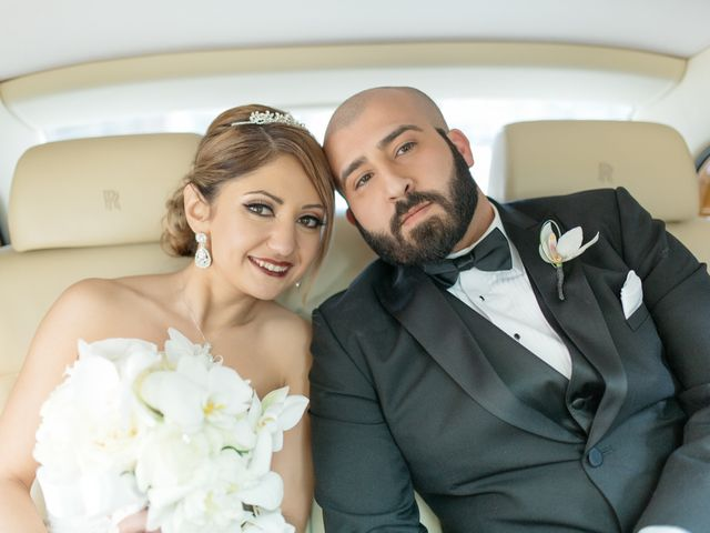 The wedding of Nelly and Mehra