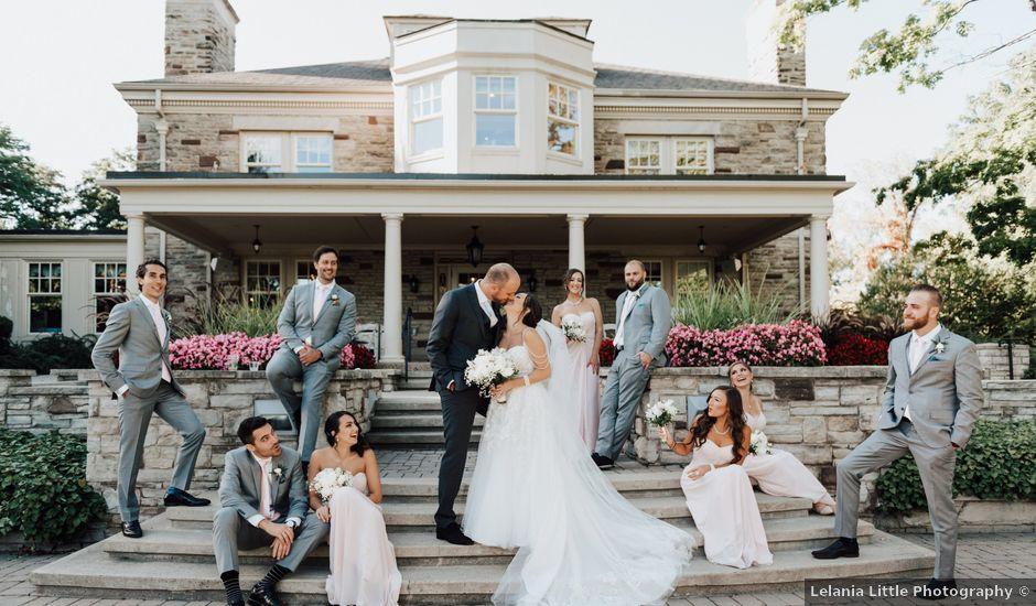 David and Jessica's wedding in Burlington, Ontario