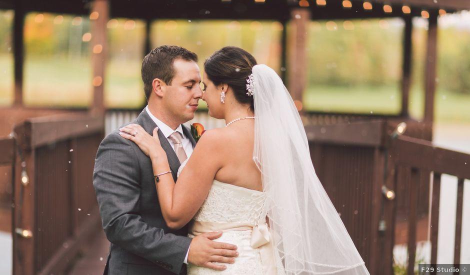 Chris and Amie's wedding in Toronto, Ontario