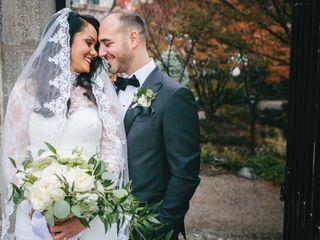 The wedding of Christina and Emelio