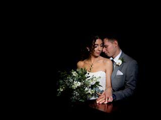 The wedding of Mel and Zak