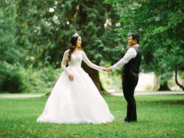 Thien and Nguyen's wedding in Vancouver, British Columbia 4