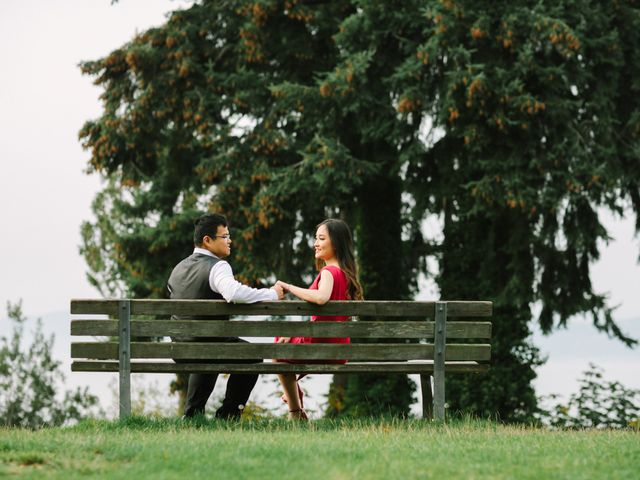 Thien and Nguyen's wedding in Vancouver, British Columbia 2