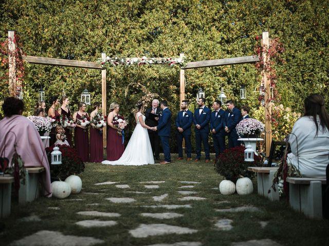 Adam and Chelsea's wedding in Peterborough, Ontario 2