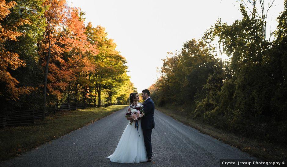 Adam and Chelsea's wedding in Peterborough, Ontario