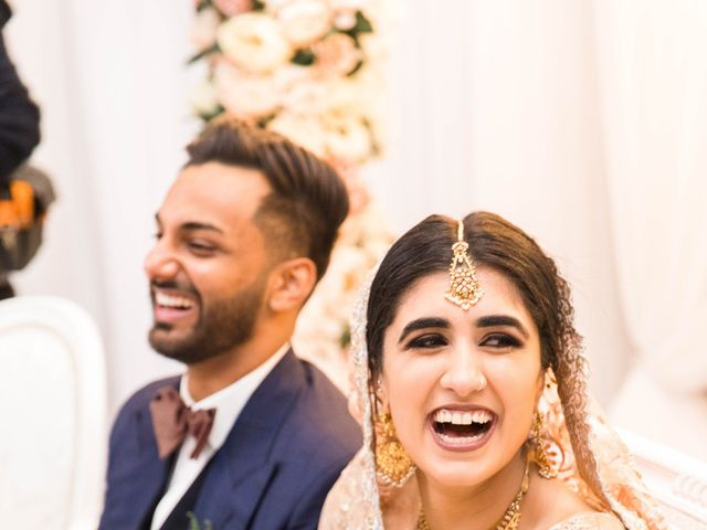 Rumsha and Shahbaz's wedding in Mississauga, Ontario 6