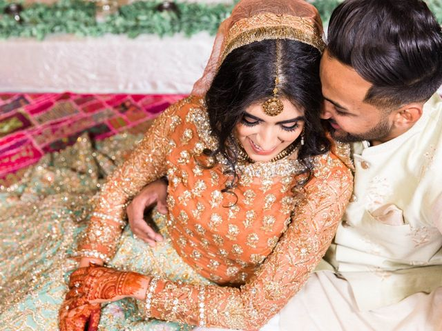 Rumsha and Shahbaz's wedding in Mississauga, Ontario 8