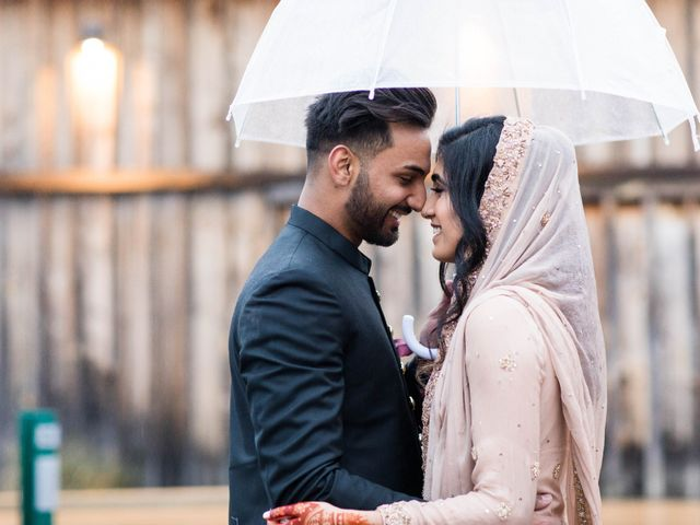 Rumsha and Shahbaz's wedding in Mississauga, Ontario 9