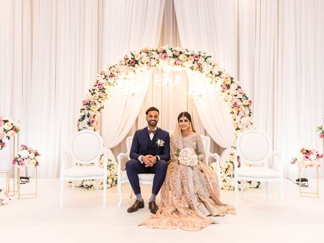 Rumsha and Shahbaz's wedding in Mississauga, Ontario 11