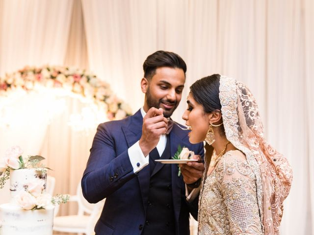 Rumsha and Shahbaz's wedding in Mississauga, Ontario 12