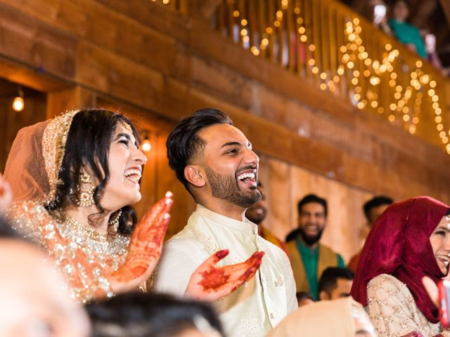 Rumsha and Shahbaz's wedding in Mississauga, Ontario 13