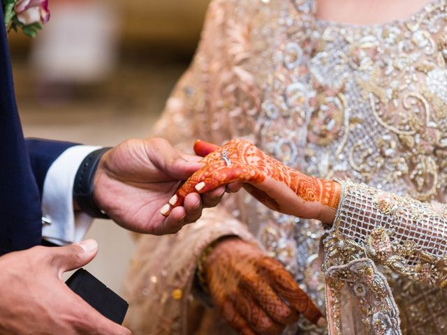 Rumsha and Shahbaz's wedding in Mississauga, Ontario 14