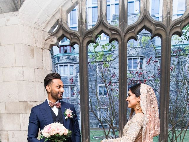 Rumsha and Shahbaz's wedding in Mississauga, Ontario 17