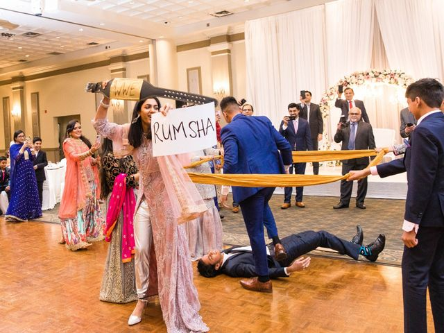 Rumsha and Shahbaz's wedding in Mississauga, Ontario 21