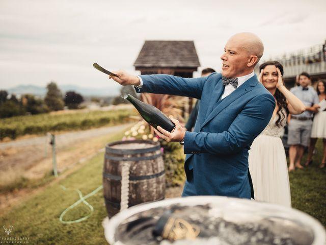 Amber and Michael's wedding in Kelowna, British Columbia 1