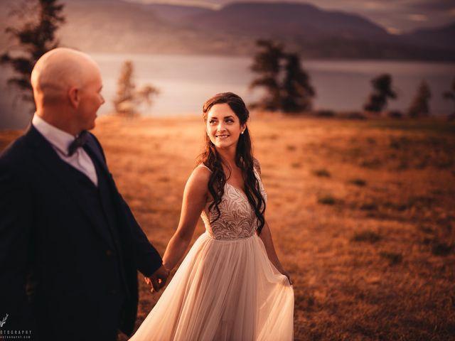 Amber and Michael's wedding in Kelowna, British Columbia 2