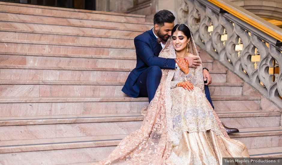 Rumsha and Shahbaz's wedding in Mississauga, Ontario