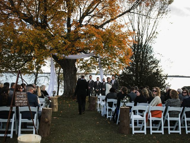 Jeffrey and Lisa's wedding in Bobcaygeon, Ontario 30
