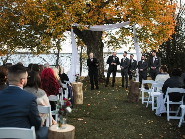Jeffrey and Lisa's wedding in Bobcaygeon, Ontario 32