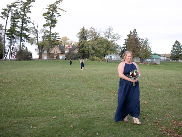 Jeffrey and Lisa's wedding in Bobcaygeon, Ontario 33