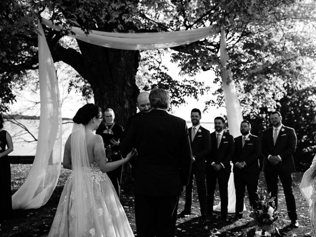 Jeffrey and Lisa's wedding in Bobcaygeon, Ontario 37