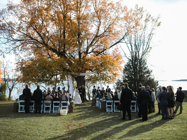 Jeffrey and Lisa's wedding in Bobcaygeon, Ontario 39