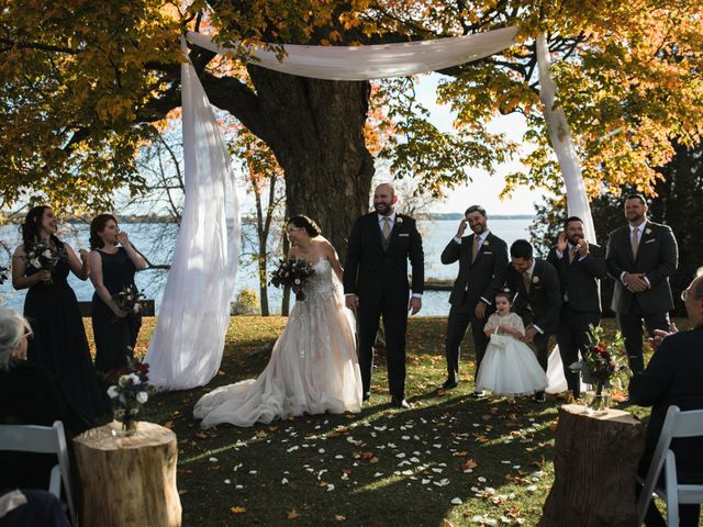 Jeffrey and Lisa's wedding in Bobcaygeon, Ontario 43