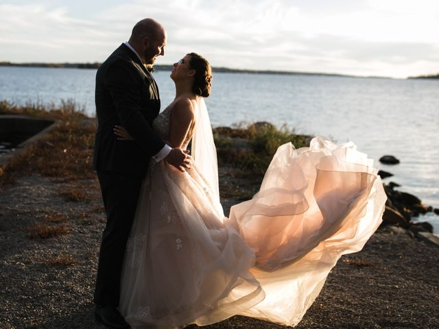 Jeffrey and Lisa's wedding in Bobcaygeon, Ontario 1