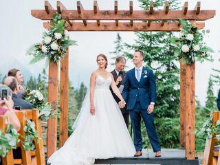 The wedding of Sarah and Caleub