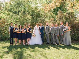 The wedding of Samantha and Keith