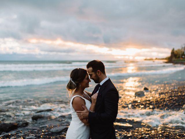 The wedding of Alexandra and James