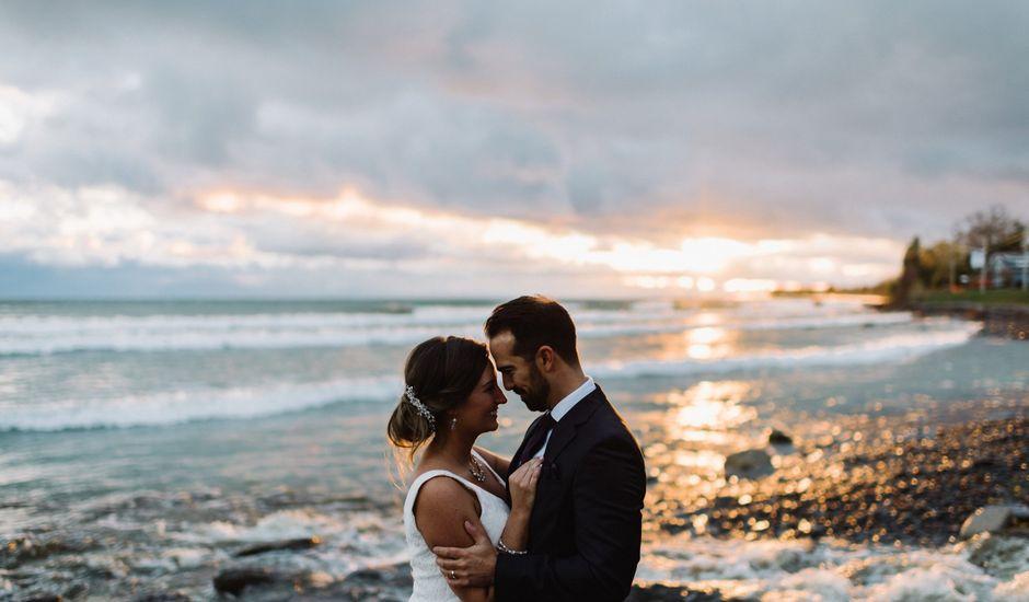 James and Alexandra's wedding in Wellington, Ontario