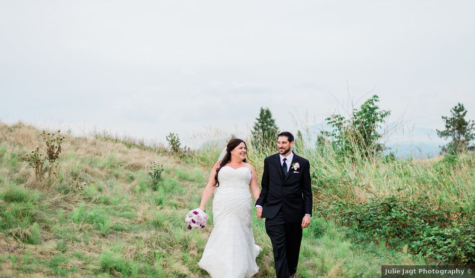 Alex and Shelby's wedding in Pitt Meadows, British Columbia